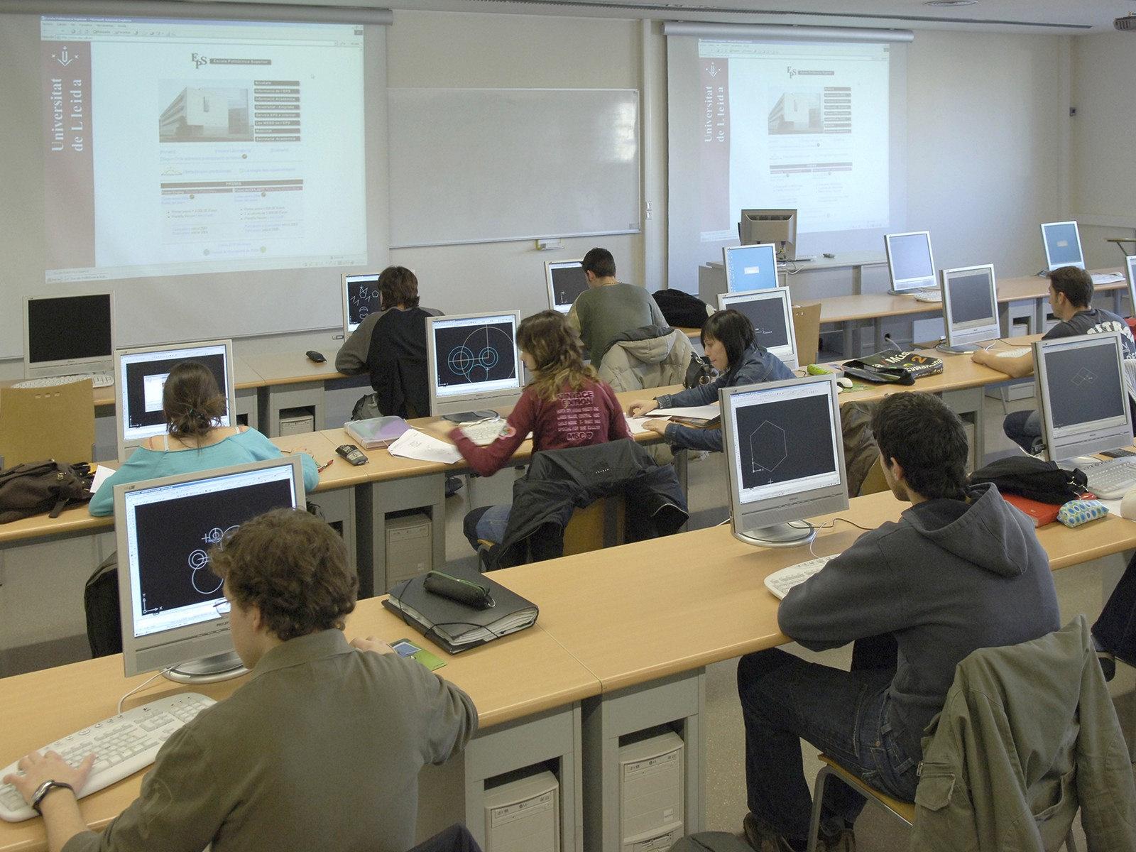 Estudiantes de la UdL que pueden elegir la formación en modalidad Dual